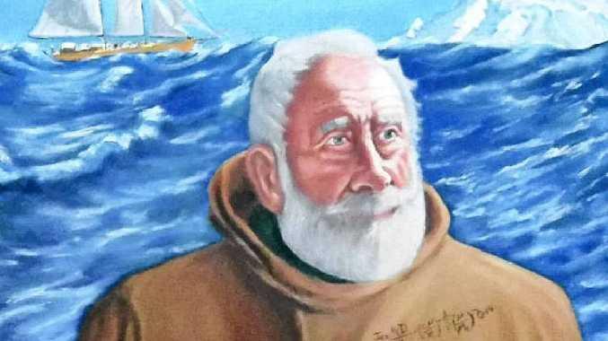 INNOVATOR: Neil Liddell's portrait of an intrepid explorer and scientist.