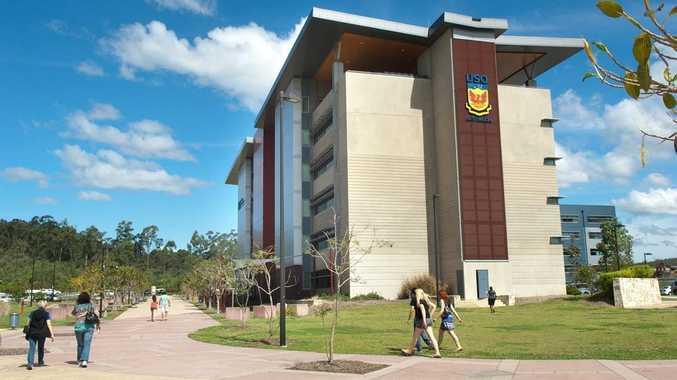 The USQ campus at Springfield.