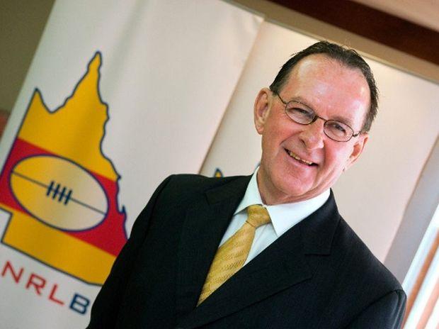 CQ NRL Bid CEO Denis Keeffe.