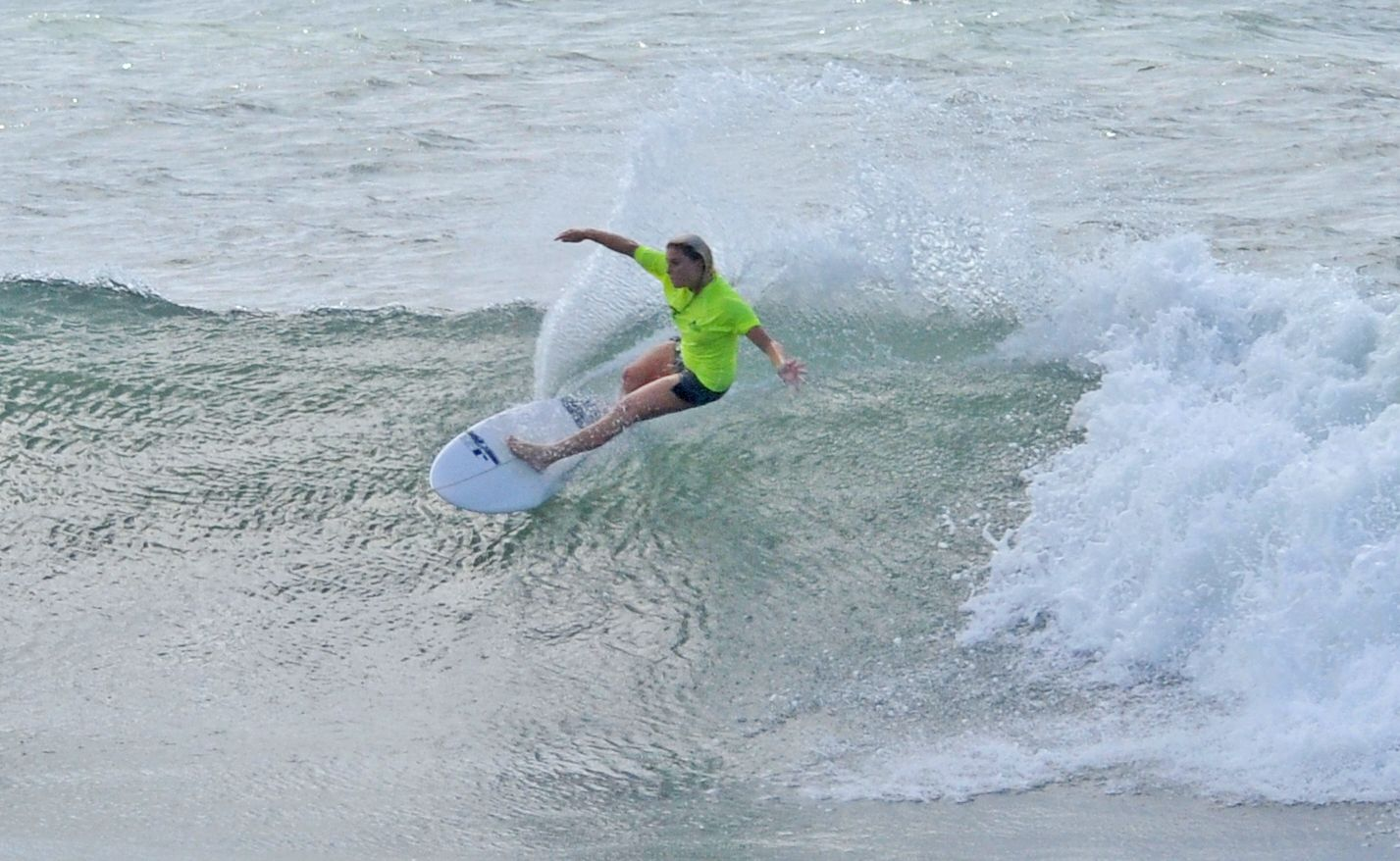 Dimity Stoyle in action at Burleigh.