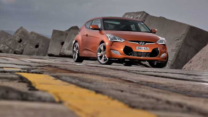 The Hyundai Veloster+.