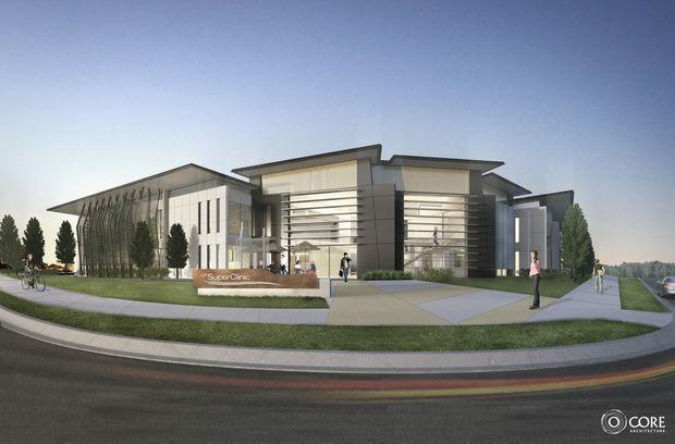 An artist's impression of the new Sunshine Coast GP Super Clinic.