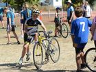 Cooloola All Schools triathlon at Tin Can Bay.Photo Craig Warhurst / The Gympie Times