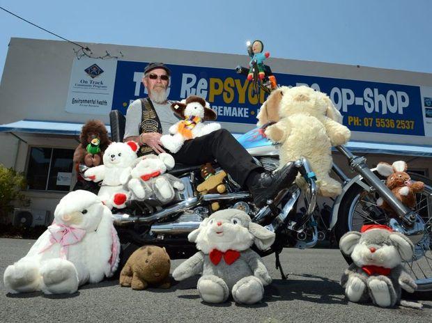 Chris 'Kooka' Wilson is looking forward to the toy run.