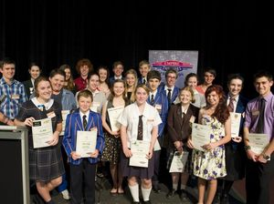 Youth bursary winners