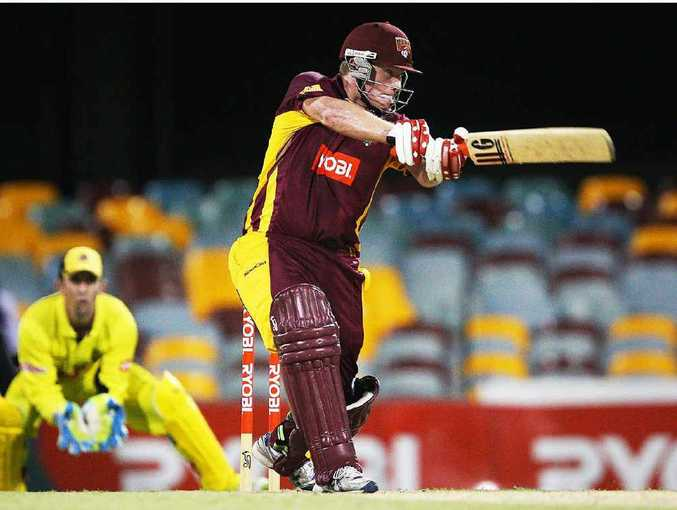 EYEING SUCCESS: Ipswich cricketer Steve Paulsen hopes to return to the Queensland Bulls side after his stint in Hong Kong.