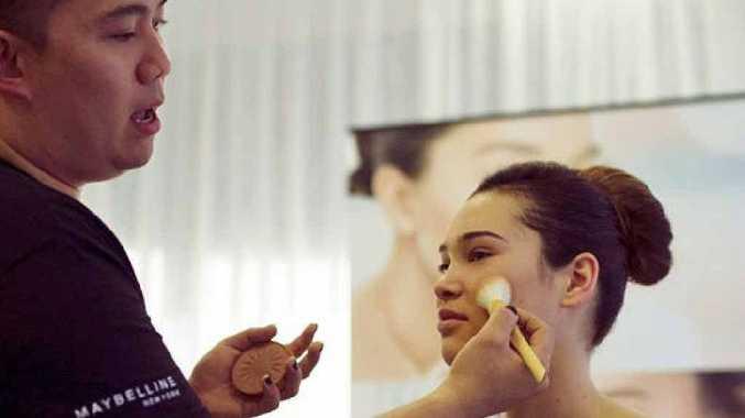 Maybelline New York make-up artist Nigel Stanislaus.