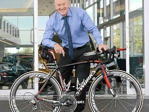 Garry takes his iron resolve to Port Macquarie for triathlon