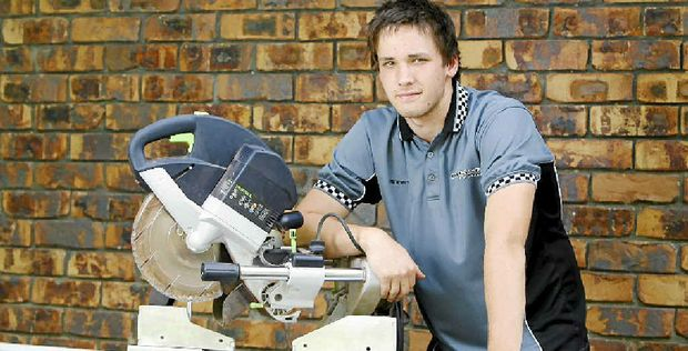 Ipswich's Steven Jeffries was the winner of the Construction Student of the Year Award at the 2011 Construction Skills Queensland Excellence Awards.