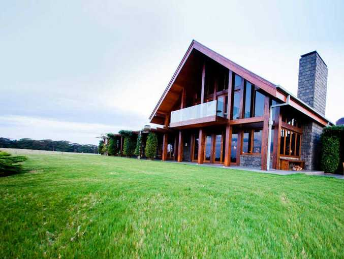 The main lodge at Spicers Peak on the Scenic Rim.