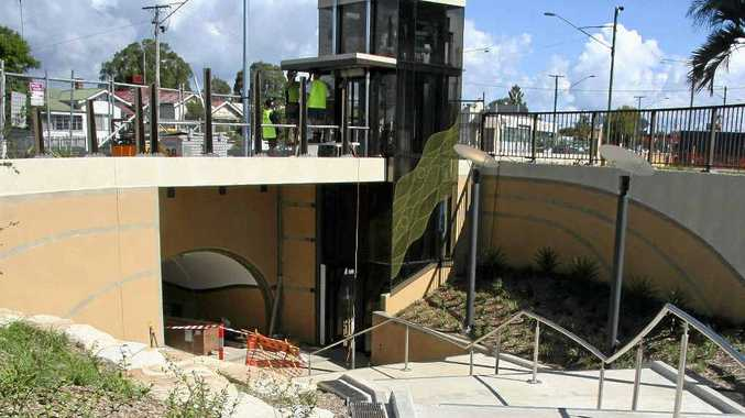 The Billy Day underpass has been in action for four years.