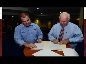 CQ NRL Bid and Capras merge