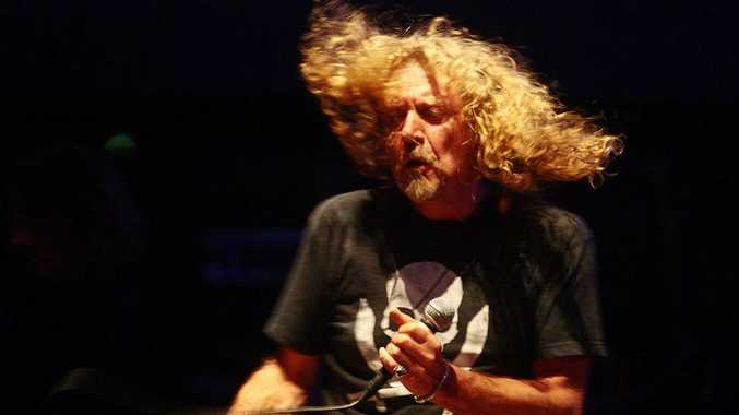 Former Led Zeppelin frontman Robert Plant will play Byron's Bluesfest 2013.