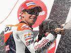 Stoner wins sixth-straight and final Australian MotoGP title