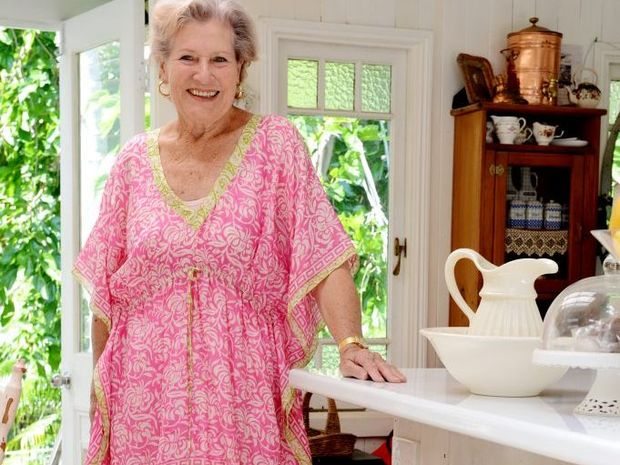 Jan Carmody at her Bangalow residence.
