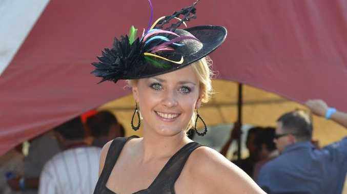 Ashley Mitchell is back in the lead in The Observer's online poll to decide who was best dressed at the races on Saturday.