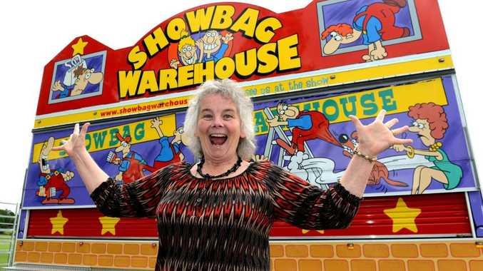 Helen Grippo at the Murwillumbah Showgrounds. Photo: John Gass / Daily News