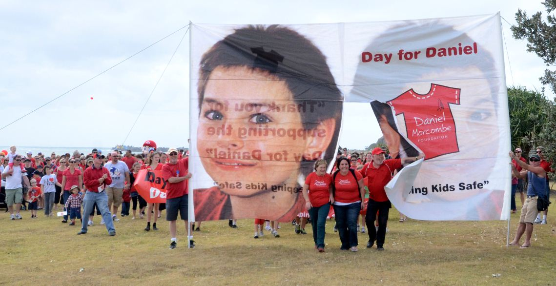 Crowds take part the Day for Daniel.