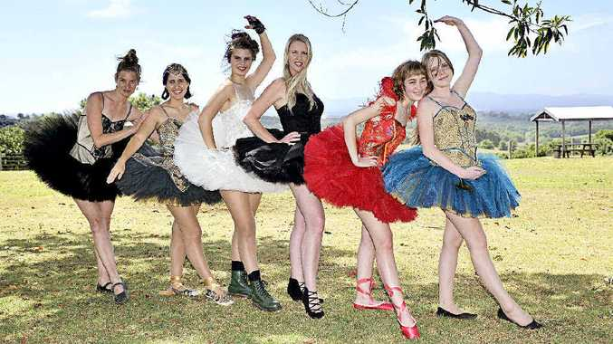 TOO TOO TERRIFIC: Helena Rousova, Isabel Winwood, Danielle Hofstetter, Sonia Osborn, Lily Jones and Serenity Holmes.
