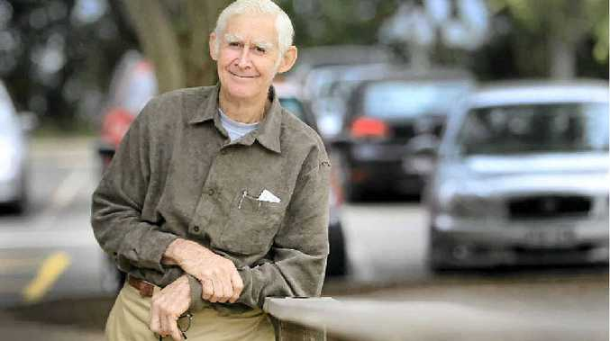 Jim Hennell crafted 50 red cedar plaques to present to Buderim's Living Legends.