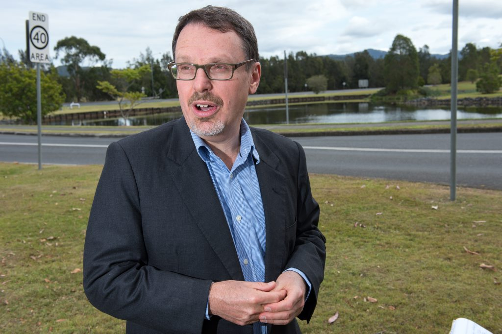 NSW Greens MLC John Kaye.