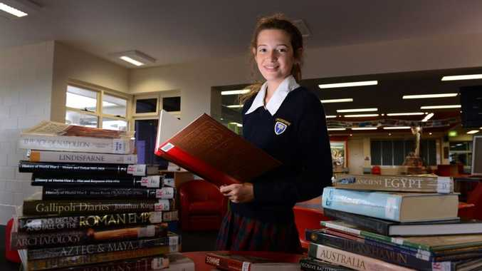 Lindisfarne student Eden Tokatly has won a medal for her speech on history.