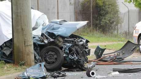 The fatal crash that killed Michael White.