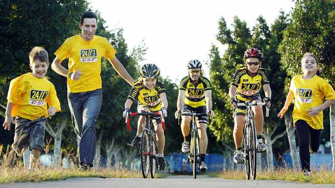 SHOWCASING CITY: The 24/7 Community Bike Ride are contenders for Event of the Year in the 2012 QT-City of Ipswich Sports Awards.