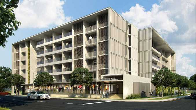 Artist impression of Carlyle Apartments, on which construction will begin at the end of November.