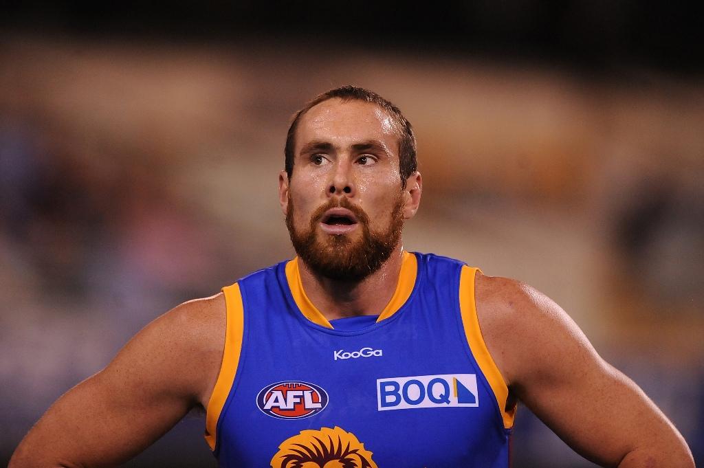 Ben Hudson of the Brisbane Lions.