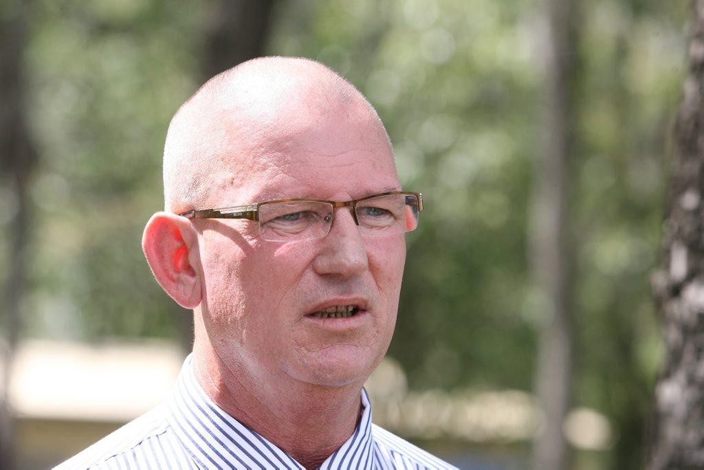 Shadow Corrections spokesman and Member for Rockhampton Bill Byrne