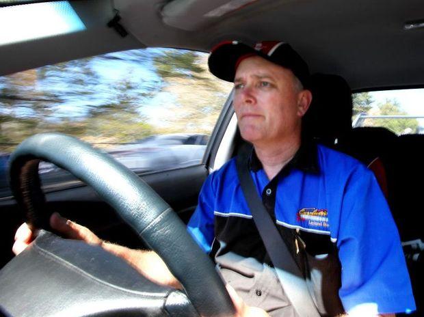 rok-driver Driver trainer Leyland Barnett. ALLAN REINIKKA AR15-0910-2