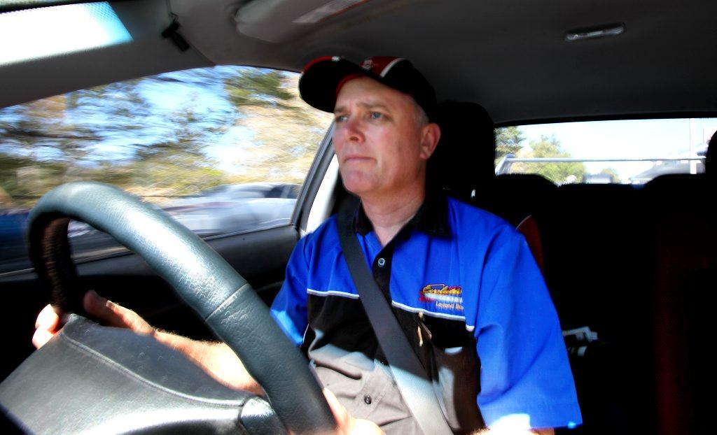 Driver trainer Leyland Barnett