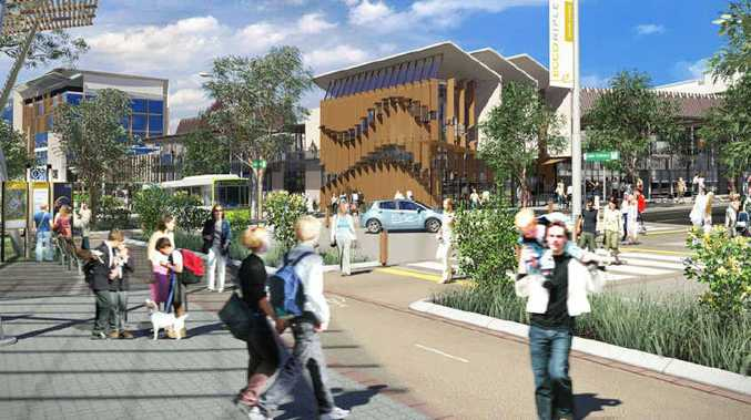 MAJOR PLANS: An artist's impression of the Ecco Ripley town development, which will be home to 120,000 people.