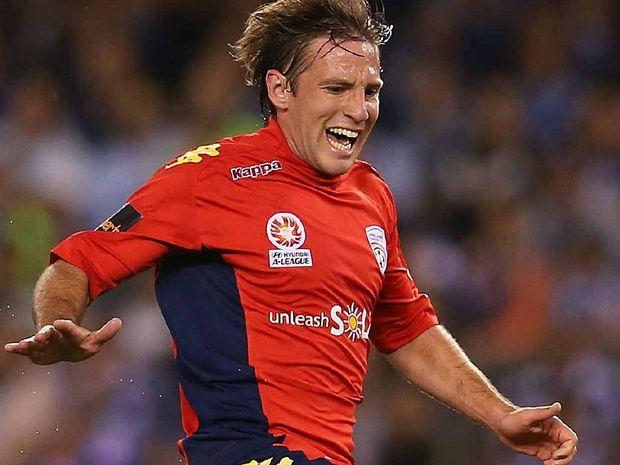 Adelaide striker Jeronimo Neumann.