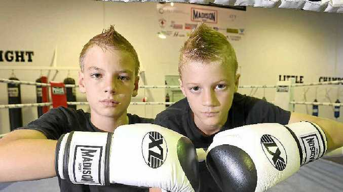 LIVE AND BRATHE THEIR SPORT: Josh and Bailey McGaughran have picked up a boxing sponsorship with Madison Sport.