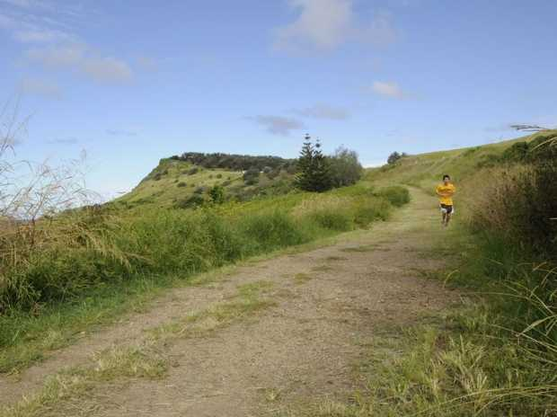 Route for the cycleway from Pat Morton Lookout into Lennox Head. DOUG EATON