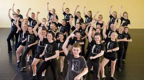 Toowoomba School of Dance goes crazy for Gangnam Style.