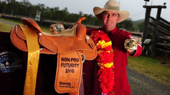 Ed Smith collected several awards at the Reinup National Horse Championships.