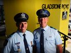 Gladstone police officers recognised for their dedication
