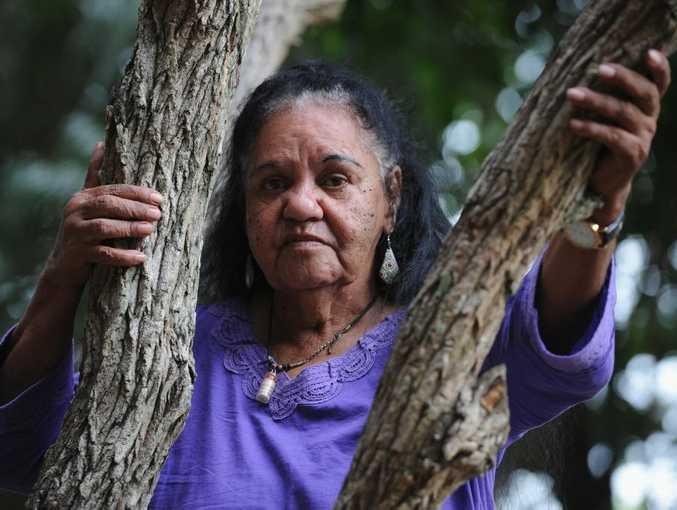 Aboriginal elder Aunty Mally Clarke.