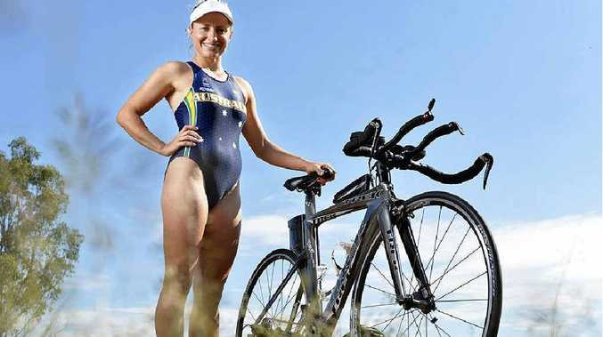 WINNING FOCUS: Ipswich triathlete Hannah Linde is looking for more state series success after contesting the world championships in New Zealand.