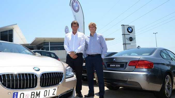 Coastline BMW owners Robert, left, and Tristan Kurz.