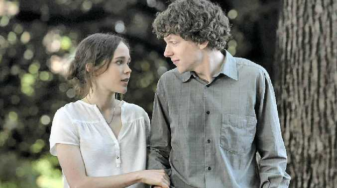 Ellen Page and Jesse Eisenberg in a scene from the movie To Rome With Love.