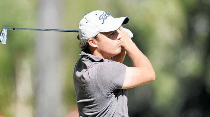 Town of Nambour Open winner Michael Dean is chasing an Australian PGA Tour card.