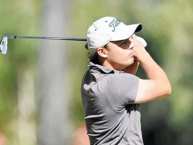 Town of Nambour Open winner Michael Dean is chasing an Australian PGA Tour card.