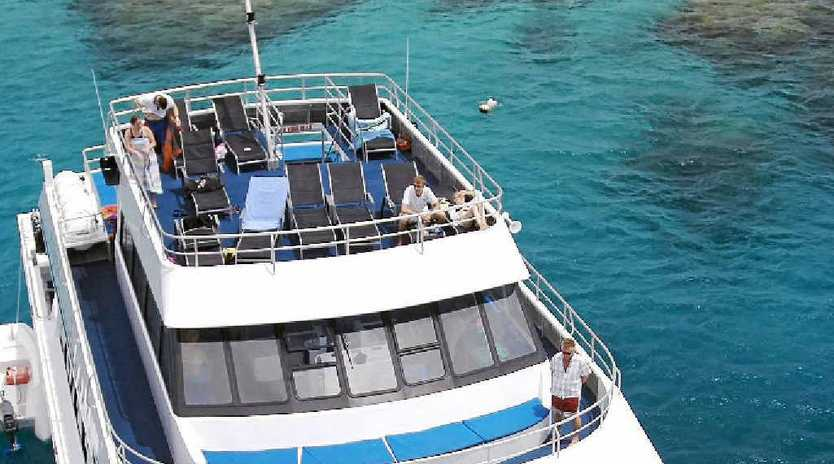 Calypso Reef and Charters provided guided tours as well as all the equipment needed to experience the magical wonders of the Great Barrier Reef.