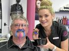 Jessica adds some colour to Movember prostate cancer cause