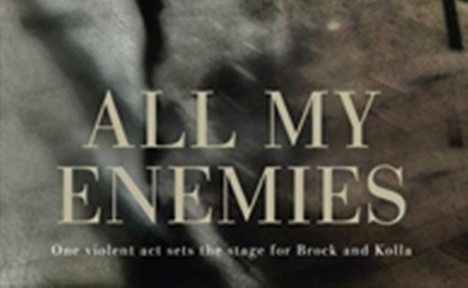'All My Enemies' an elegant crime novel.