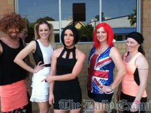 Spice Girls at the Jacaranda Festival